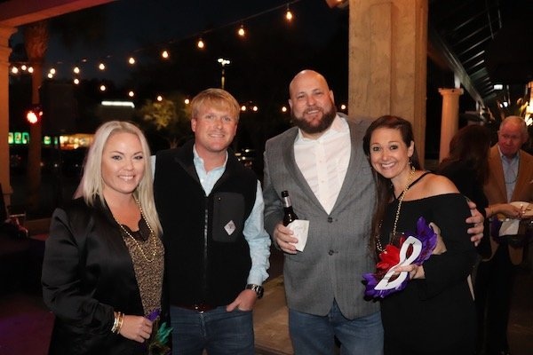 Courtney and Gabe Crabb, Jeff and Staci Lundy