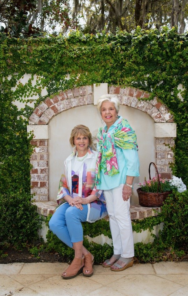 2020 Garden Walk Chairs Julie Sellers and Linda Johnston