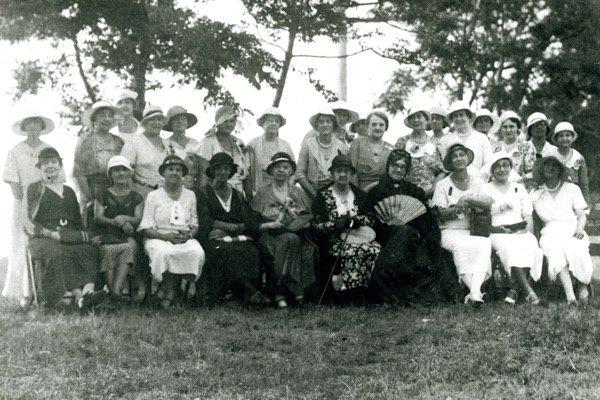Cassina Garden Club circa 1932