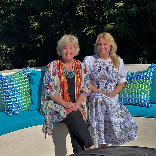 Gina D'Amico Lever and Lisa Carmichael