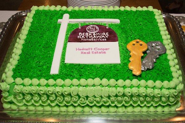 BHHS Hodnett Cooper cake