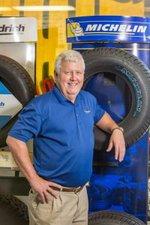 Bill Duckworth Tire ad photo