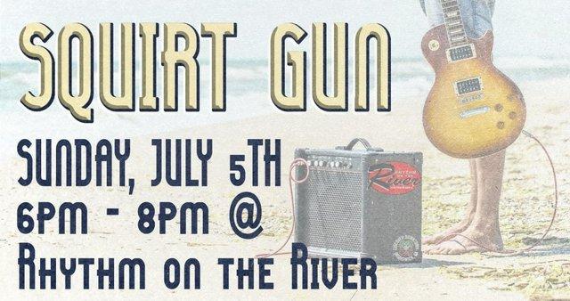 Rhythm on the River Squirt Gun