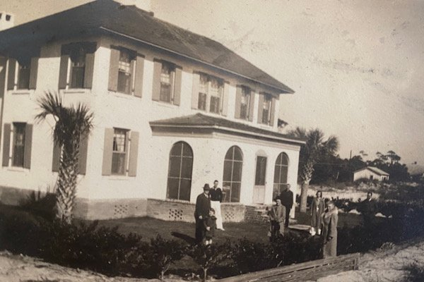 Bryanscot-by-the-Sea, Cottage 71 on Sea Island Thanksgiving, 1936