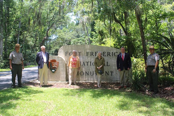Fort Frederica Partnership with St. Simons Land Trust