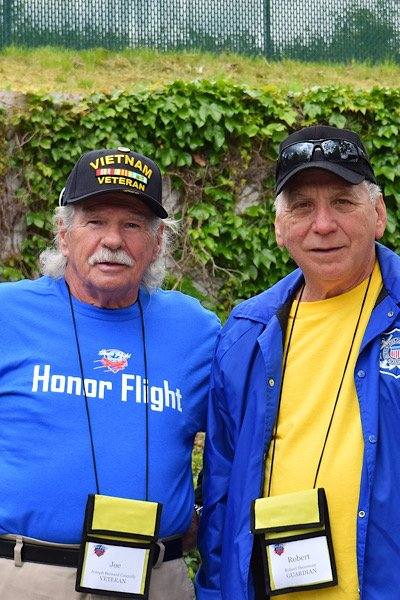 Coastal Georgia Honor Flight participants