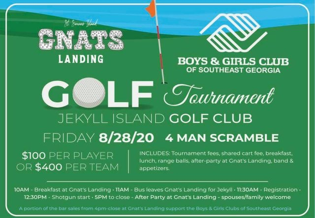 Boys Girls Club Golf Tourney 2020