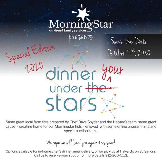 Dinner Under Your Stars