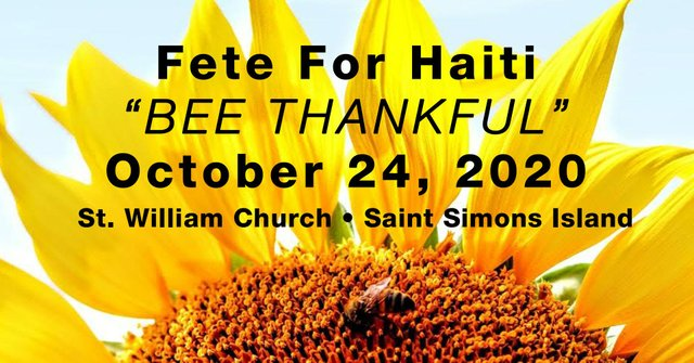 Bee Thankful Fête for Haiti 2020