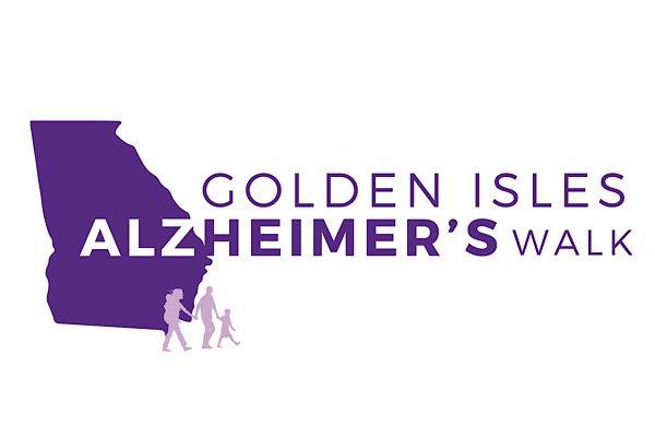 Golden Isles Alzheimer's Walk logo