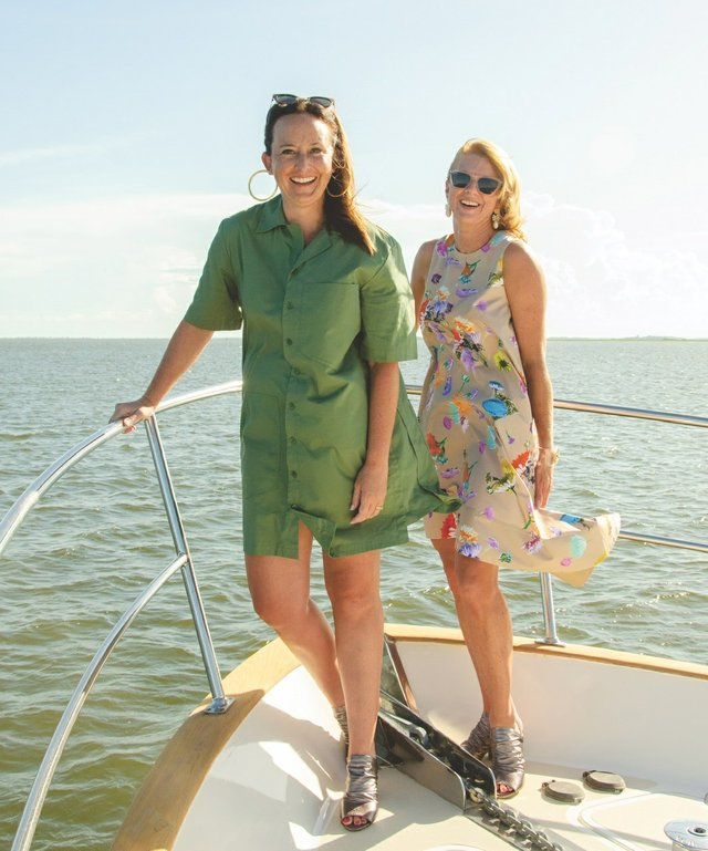 Suzanne Akins and Tammy Palmer