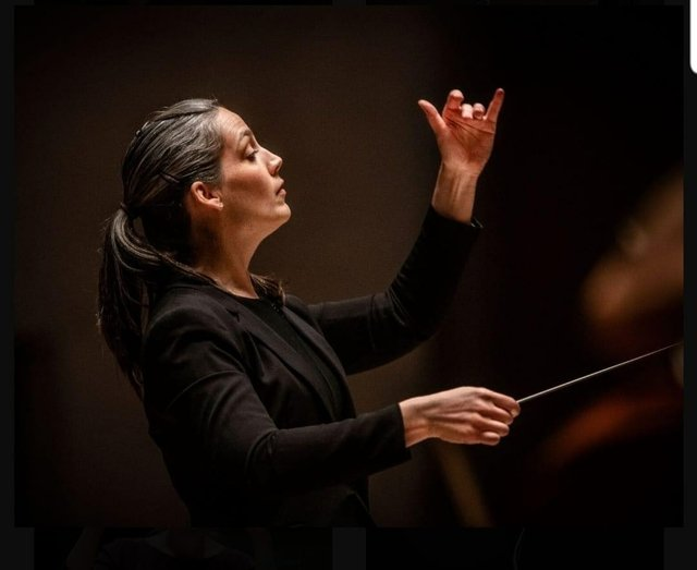 Musical Director and Conductor Michelle Merrill
