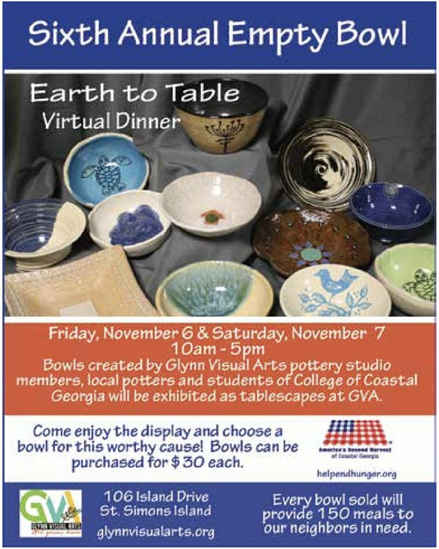 6th Annual Empty Bowl Fundraiser - Virtual Event