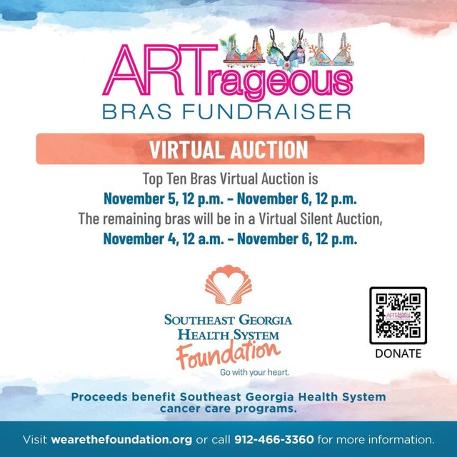 ARTrageous Bra Virtual Auctions
