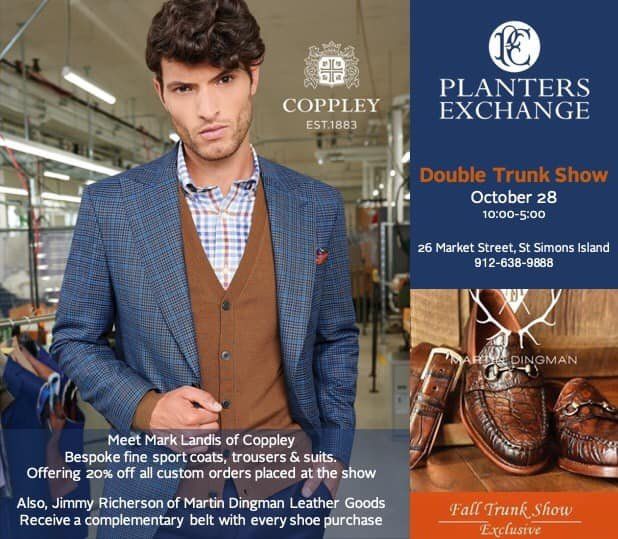 Coppley-Dingman Double Trunk Show