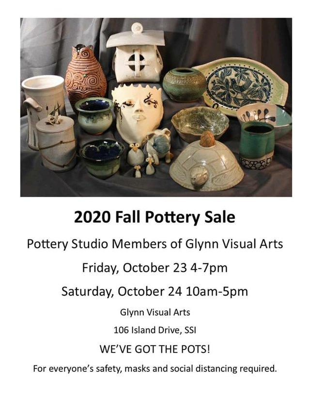 2020 Fall Pottery Sale