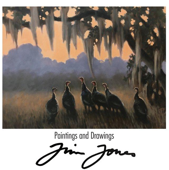 Drawings and Paintings by Jim Jones