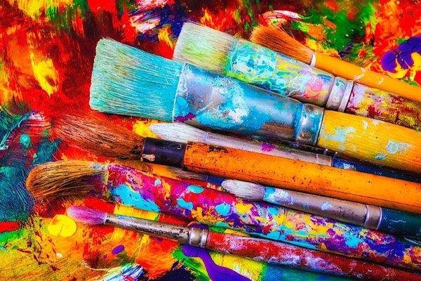 Art paintbrushes
