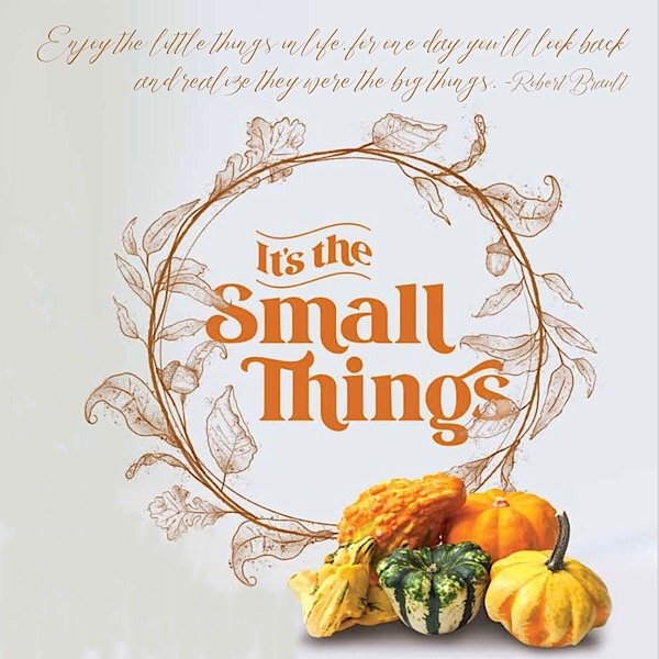 Small Things opening art