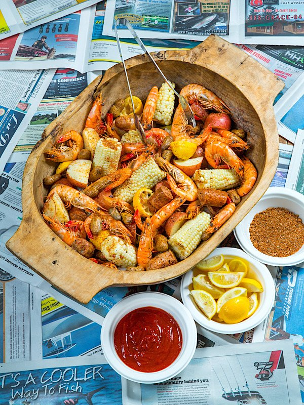 Southern Soul Barbeque Low Country Boil