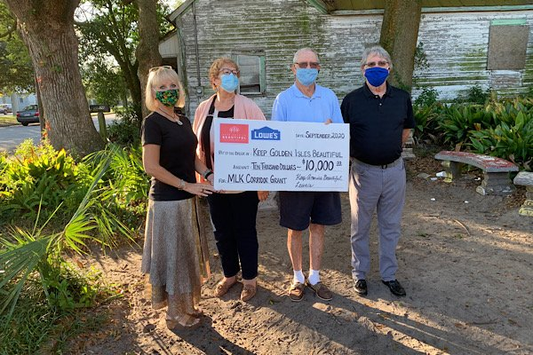 Keep Golden Isles Beautiful Grant Award