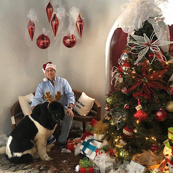 David and Bear Christmas 2020