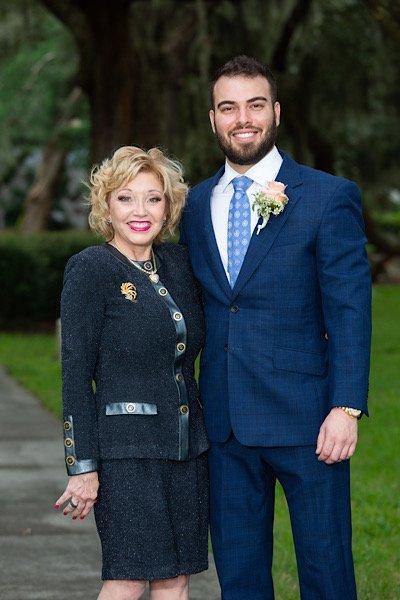 Zoey Herrington and her son Doug Brooks