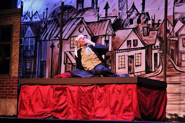 Bryan Thompson as Scrooge