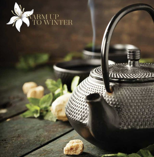 Warm Up to Winter Tea