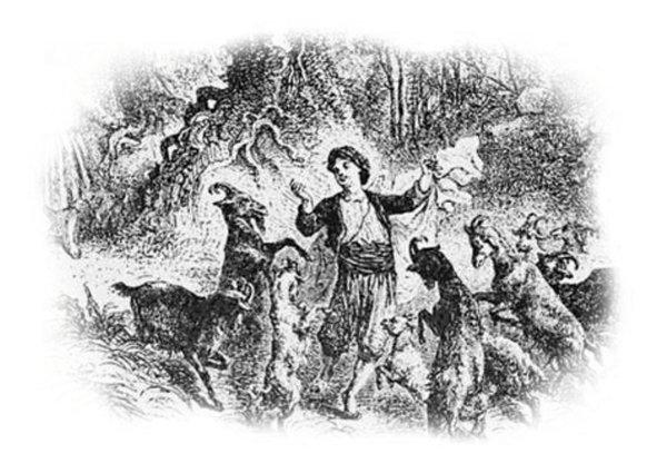 Kaldi and the dancing goats of Kaffa