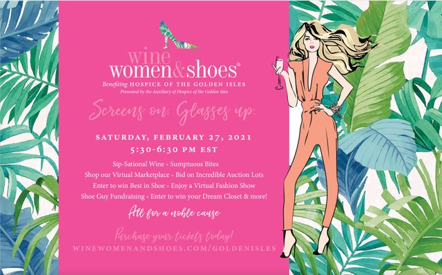 Wine Women Shoes 2021 - A Virtual Experience