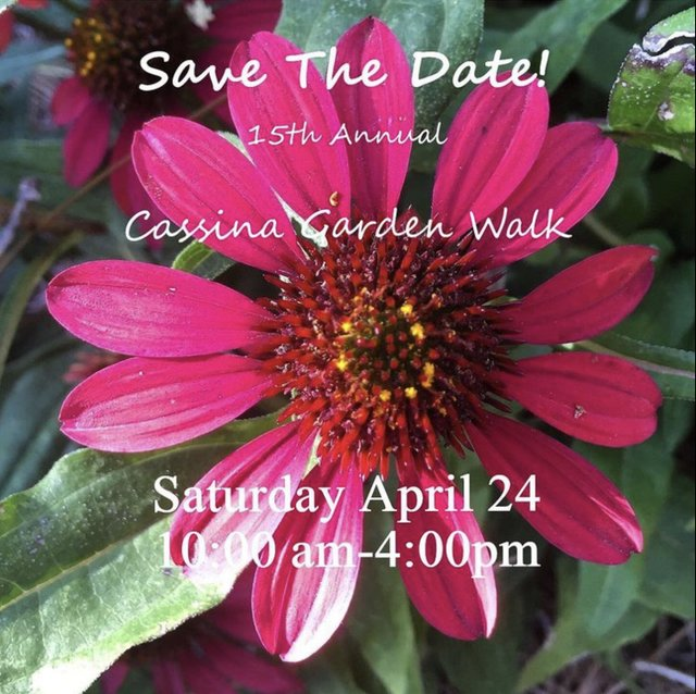 2021 Cassina Garden Walk
