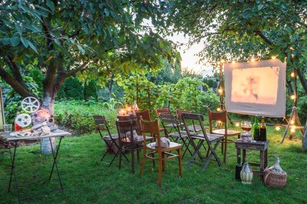 Movie outdoors