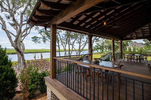 Cedar Lodge at Honey Creek porch