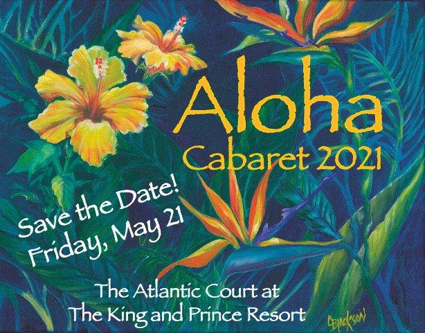 Save the Date Cabaret 2021