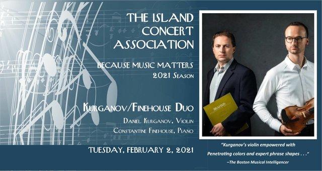 Island Concert Assoc Feb2 concert