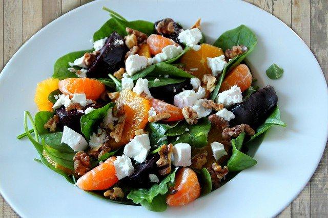 Sunny Spinach Salad