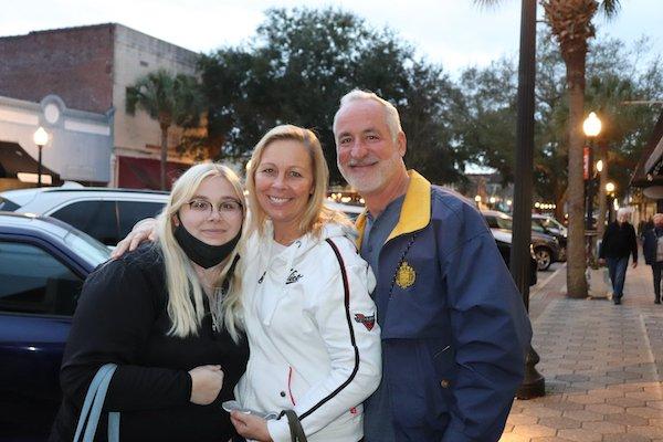 Macy, Shana and Russ Tysinger