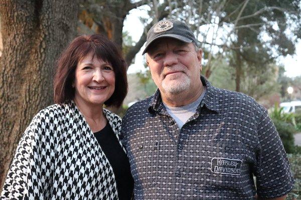 Christine and Marty Polmanteer