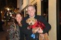 Michele and Rick Sullivan with Leo