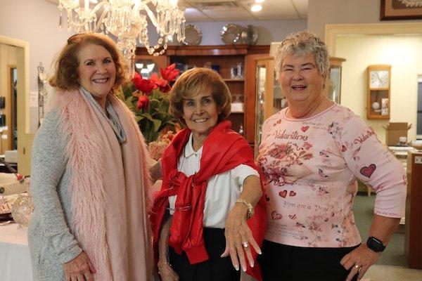 Durrett Moerman, Virginia Paulk, Diane Hughes