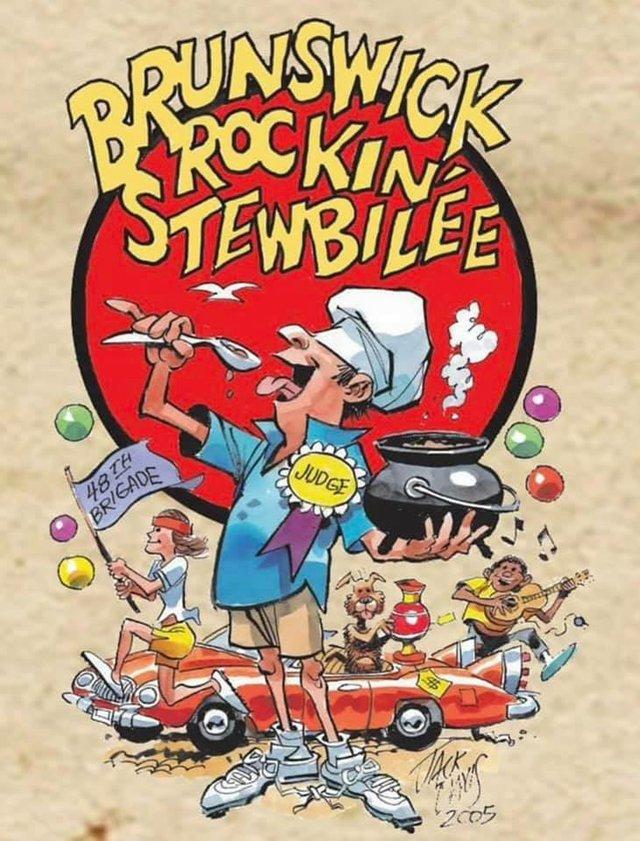 Brunswick Stewbilee poster Jack Davis