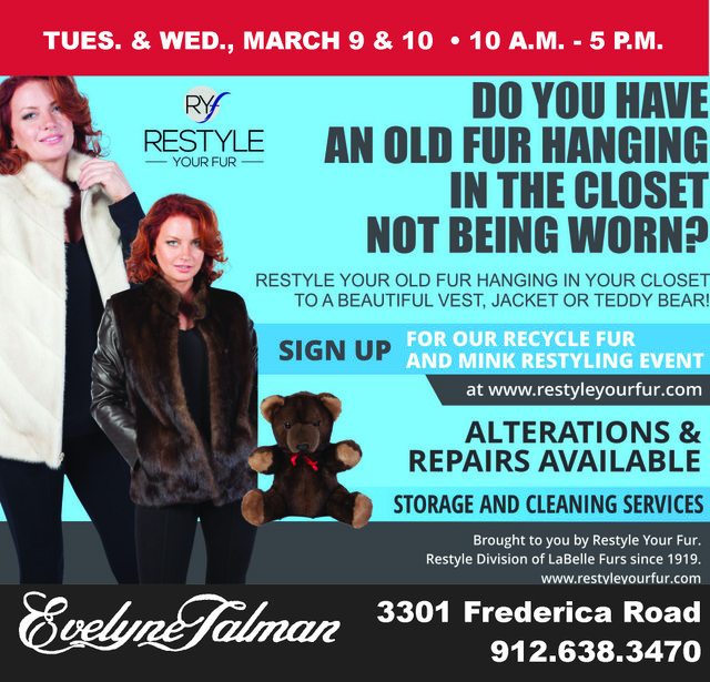 ReStyle Your Fur Event March21