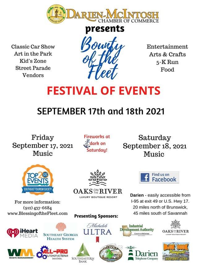 2021 Darien Bounty of the Fleet Festival
