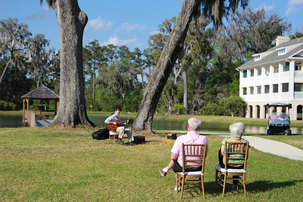 Outdoor concerts at Marshs Edge