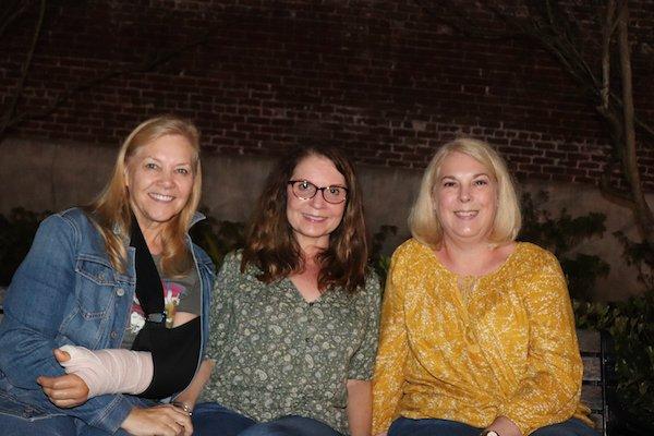 Jo Scott, Karen Stansbury, Corinne Ramsey
