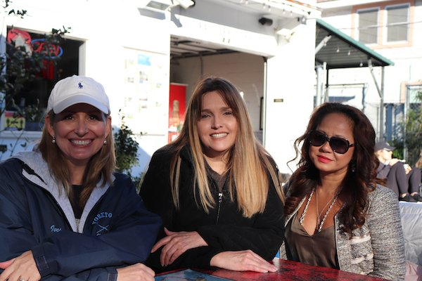 Jennifer Ives, Marcela Cookson, Trang Barboza