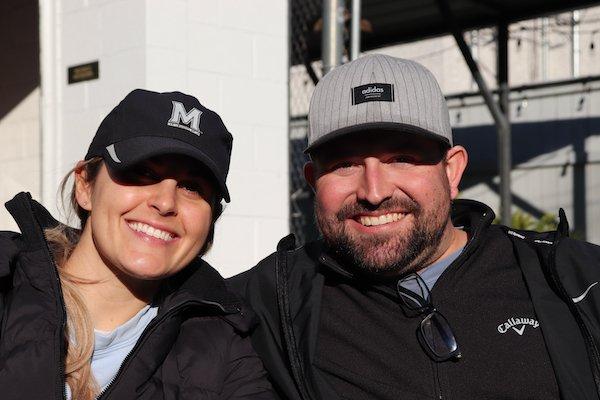 Caitlin and Chris Perreault