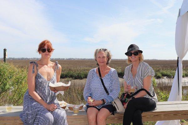 April Spain, Anita Broadbent, Ruthie Perkins