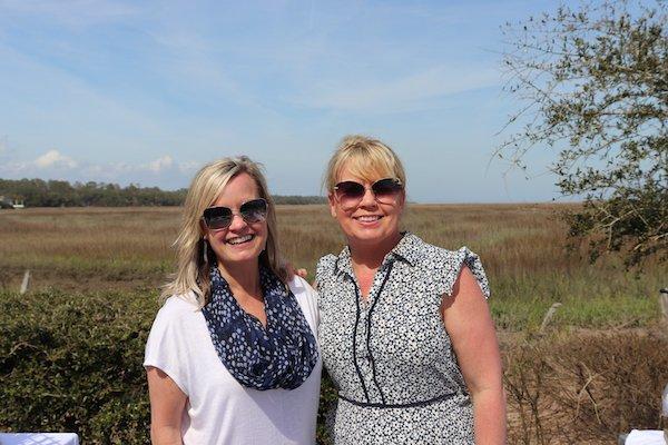 Debbie Banks and Alice Ellis of The Grateful Oyster